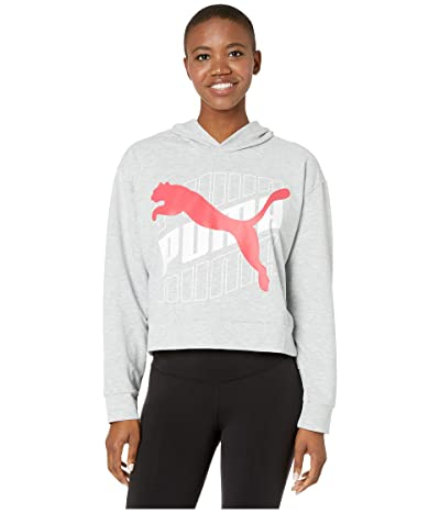 PUMA Modern Sport Hoodie (Light Grey Heather) Women