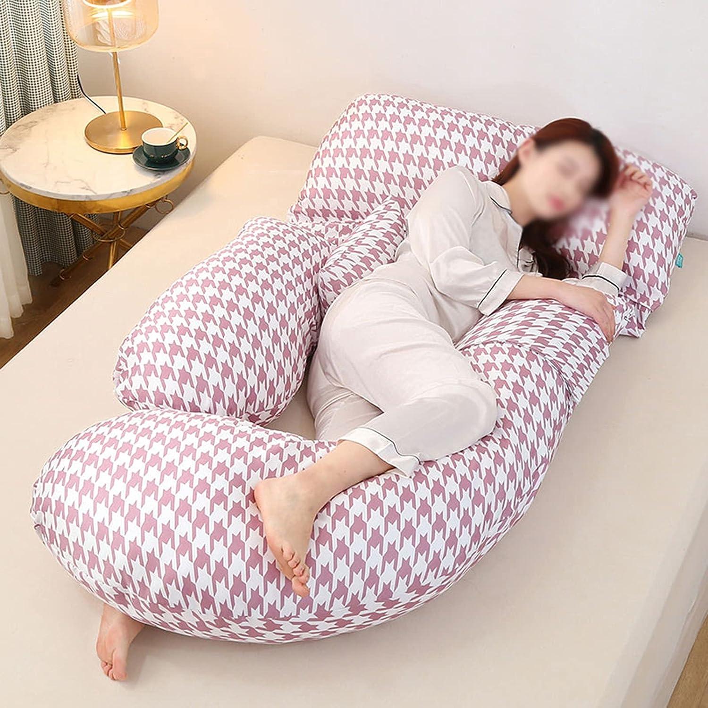 DUOLAEM Pregnant Women Pillow Summer Ice Silk Super sale period limited Super intense SALE P Side Sleep Waist