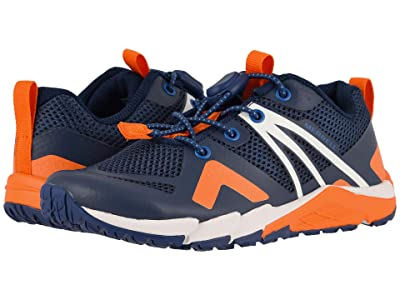 Merrell Kids MQM Flex Low (Little Kid/Big Kid) (Navy/Orange) Boys Shoes