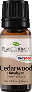 Plant Therapy Cedarwood Himalayan Essential Oil 10 mL (1/3 oz) 100% Pure, Undiluted, Therapeutic Grade