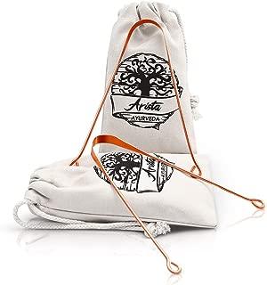 Limpiador de Lengua de cobre | Yoga & medicina Ayurveda