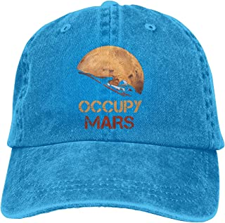 Occupy Mars Starman Spacex Unisex Personality Hat Adjustable Baseball Hat