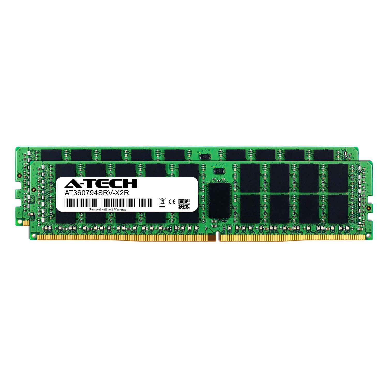 Server Memory Ram 2 x 8GB for Intel Xeon Gold 6146 A-Tech 16GB Kit DDR4 PC4-21300 2666Mhz ECC Registered RDIMM 2rx8 AT360797SRV-X2R2