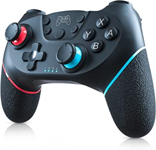 Switch/Switch lite コントローラー DOACE Switch プロコン 無線 有線 スイッチコントローラー switch スリープ解除 Bluetooth接続 6軸ジャイロ 振動 連射機能 switch pro コントローラー