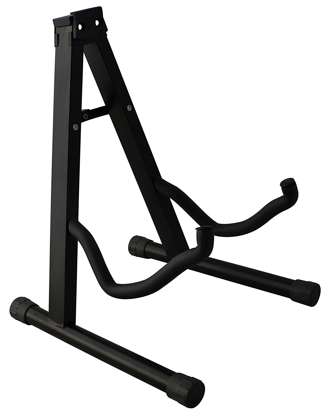 YmcYMC Universal Folding Guitar Stand with Secure Lock - for Acoustic and Electric Guitar