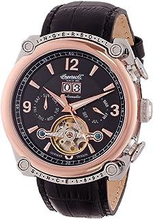 インガーソル 腕時計 限定生産品 自動巻き オープンハート カレンダー Cimarronリーズ IN6907RBK [並行輸入品]