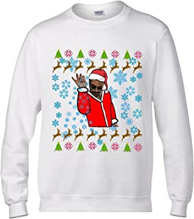Christmas Sweater Salt Bae Santa Ugly Sweater Ladies Mens Sweatshirts Christmas Party Outfit Funny #SaltBae Christmas Funny Gift Ideas