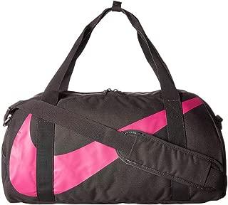 Nike Unisex-Child Duffel Bag, Grey/Active Fuchsia - NKBA5567