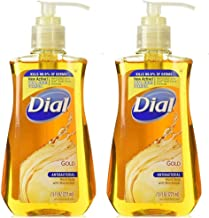 Dial Antibacterial Liquid Hand Soap Gold 7.50 oz (Pack of 2)