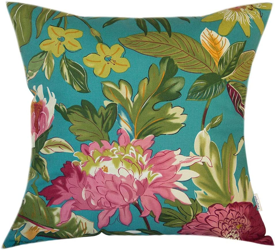 TangDepot Sales for sale 100% Cotton Floral Throw Decorative Pillow Printcloth Our shop OFFers the best service
