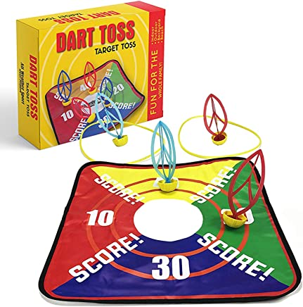 Lawn Darts | Dart Toss | Target Toss | Garden, Lawn, Yard, Beach, Outdoor, Indoor and Backyard Games | This Toy is Perfect for all Ages | Fun for the Whole Family | Outdoor Tossing Game | Toys