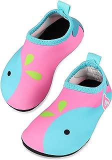 Baby Boy Girl Water Shoes, Quick Drying Barefoot Skin Aqua Sock Swim Shoes for Beach Pool