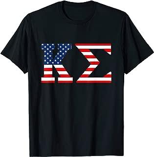 Kappa Sigma Fraternity American Flag Patriotic Shirt