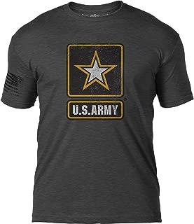 7.62 Design US Army 'Distressed Logo' Patriotic Men's T Shirt
