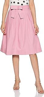 Amazon Brand - Eden & Ivy Cotton a-line Skirt