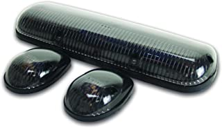 Pacer Performance 20-253S Hi-Five Smoke Chevy Style Cab Roof LED Light Kit, (Pack of 3)