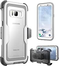 i-Blason Armorbox Series Case for Galaxy S8+ Plus, [Full body] [Heavy Duty] Shock Reduction / Bumper Case WITHOUT Screen Protector for Samsung Galaxy S8 Plus 2017 Release (White)