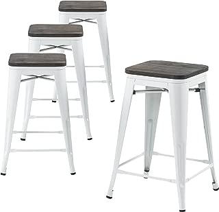 pier one white bar stools