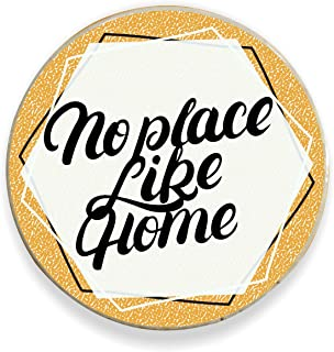 Yaya Cafe™ No Place Like Home Printed Fridge Magnet - Round