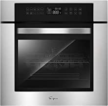 """Empava 24"""" Electric Convection Single Wall Oven 10 Cooking Functions Deluxe 360°.."""