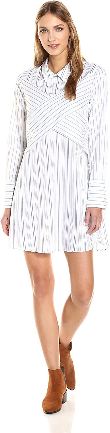 BCBGMax Azria Women's Azriel Woven Casual Dress