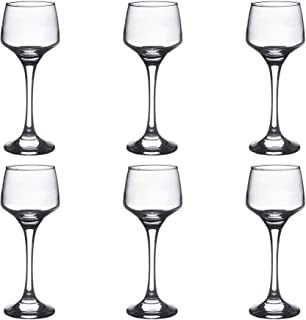 Argon Tableware Sherry/Liqueur Glasses - 80ml (2.8oz) - Gift Box Of 6