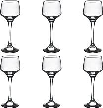 Argon Tableware Sherry/Liqueur Glasses - 80ml (2.8oz) - Gift Box Of 6