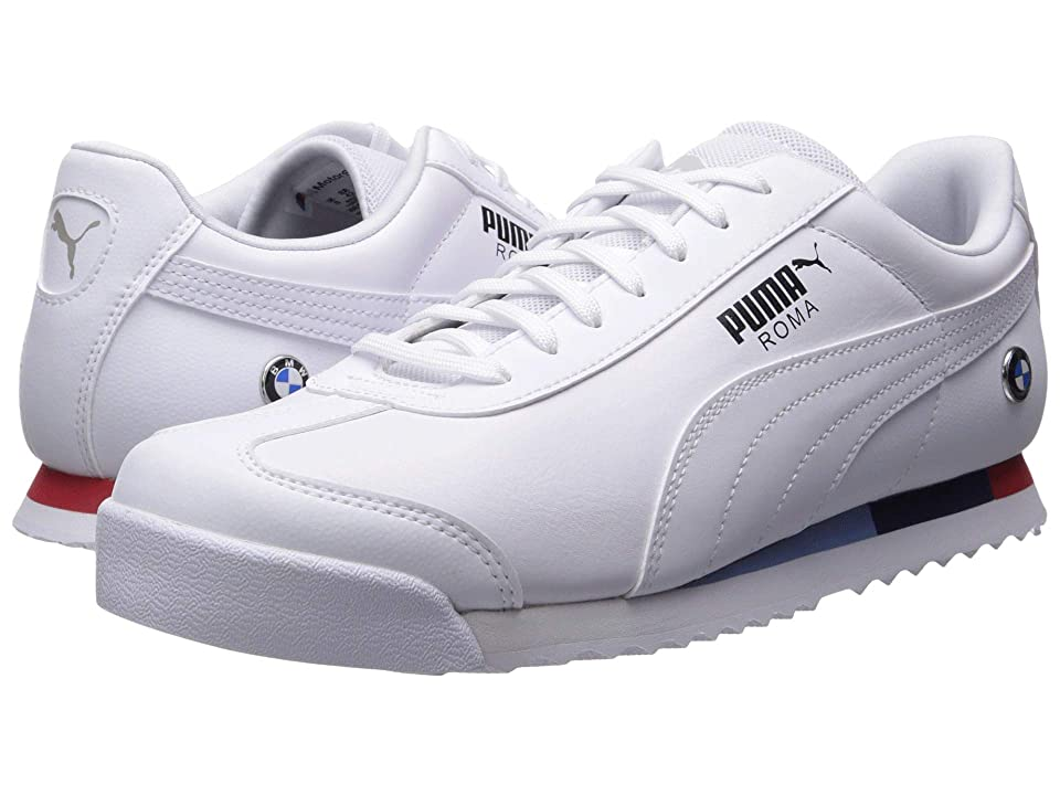 680243d7c8b PUMA BMW MMS Roma (Puma White Puma White) Men s Shoes