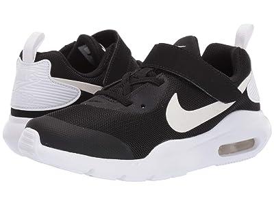 Nike Kids Air Max Oketo (Little Kid) (Black/White) Boys Shoes