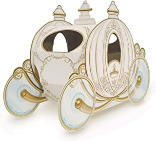 Club Pack of 12 Decorative Gold 3-D Cinderella Pumpkin Carriage Centerpieces 11