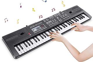 RenFox 61 Key Piano Keyboard Portable Keyboard Piano with Mi