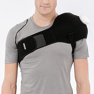Bracoo IA80 アイシングサポーター スポーツ用 アイシング 腰 肩 膝 背中 氷嚢 けが 腫れ 応急処置 (6インチのアイス・ホットバッグ付き)