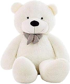 White-160cm Giant Teddy Bear Large Plush Stuffed Toys Doll Birthday Gift for Kids/Girlfriend/Wife
