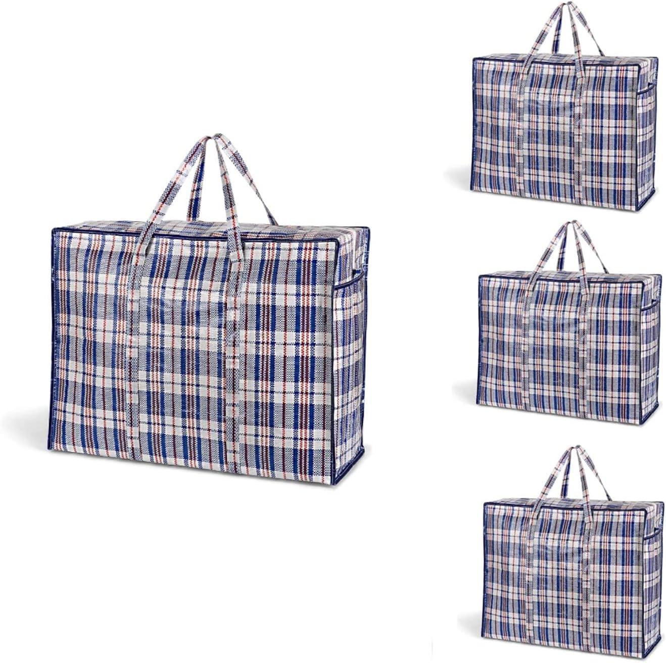 Save money LAKOVOS 79L Extra Large Jumbo Storage Set of With Bag Ranking TOP7 Zipper 4