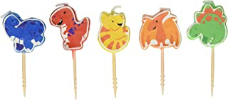 amscan Character Candles, Dinosaur Icon Candles, Party Supplies, Assorted, 2 1/2
