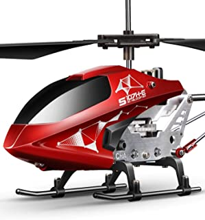 Remote Control Helicopter, S107H Aircraft with Altitude Hold, One Key take Off/Landing, 3.5 Channel, Gyro Stabilizer and H...