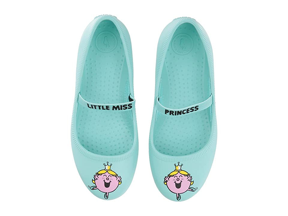 Native Kids Shoes Little Miss Sunshine Margot Print (Little Kid) (Sherbert Blue) Girls Shoes