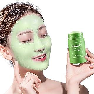 JXAA Maschera Purificante All'argilla al tè Verde, Pulizia Profonda, Detergente Pori Idratante E Olio Controllante, Miglio...