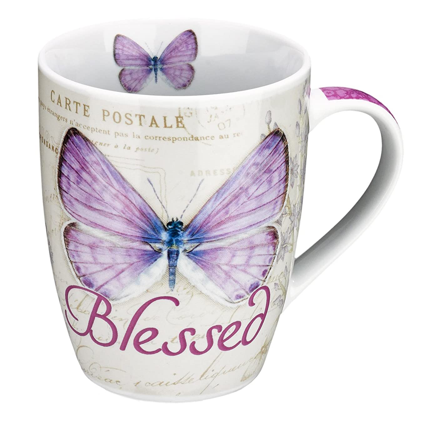 Botanic Butterfly Blessings Purple