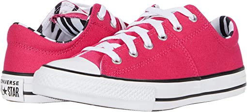 Cerise Pink/Black/White