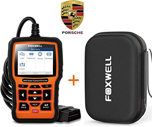 discount Foxwell NT510Elite wholesale Bidirectional All System lowest Scan Tool for Prosche with Storage Case sale