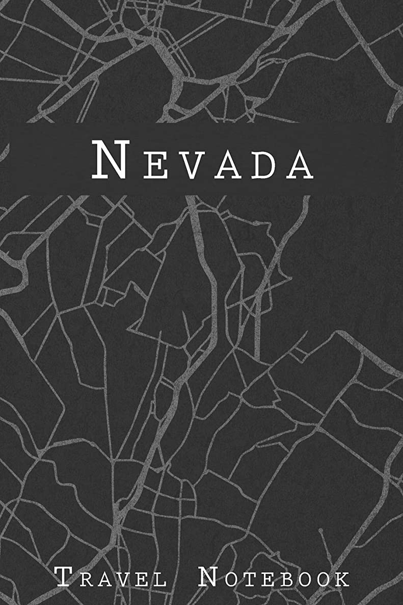 Nevada Travel Notebook: 6x9 Travel Journal or Diary with prompts, Checklists and Bucketlists perfect gift for your Trip to Nevada for every Traveler on a USA America Roadtrip