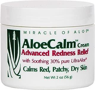 AloeCalm Advanced Redness Relief Cream 2 Ounce jar with 30% UltraAloe
