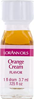 LorAnn Orange Cream Super Strength Flavor Flavor, 1 dram bottle (.0125 fl oz - 3.7ml)