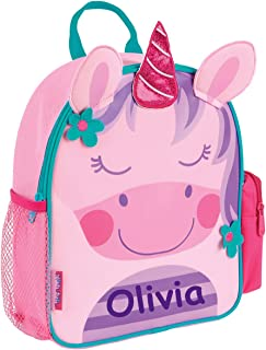 Stephen Joseph Personalized Little Girls' Mini Sidekick Unicorn Backpack With Name