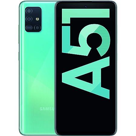 "Samsung Galaxy A51 - Dual SIM, Smartphone de 6.5"" Super AMOLED (4 GB RAM, 128 GB ROM, cámara Trasera 48.0 MP + 12.0 MP + 5.0 MP + 5 MP, cámara Frontal 32 MP) Azul [Versión española]"