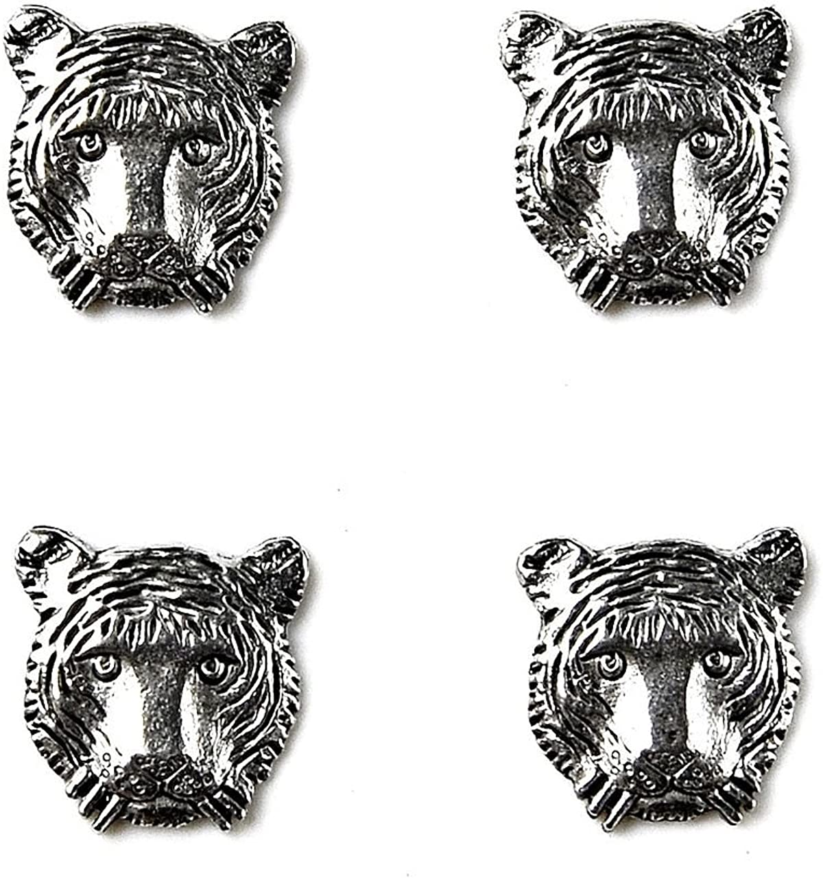 Quality Handcrafts Guaranteed Tiger Tuxedo Studs