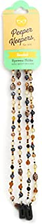 Peeper Keepers Eyeglass Chain, Marble Glass Beads Cord, Sunglasses Holder, Eyeglass Necklace for Women