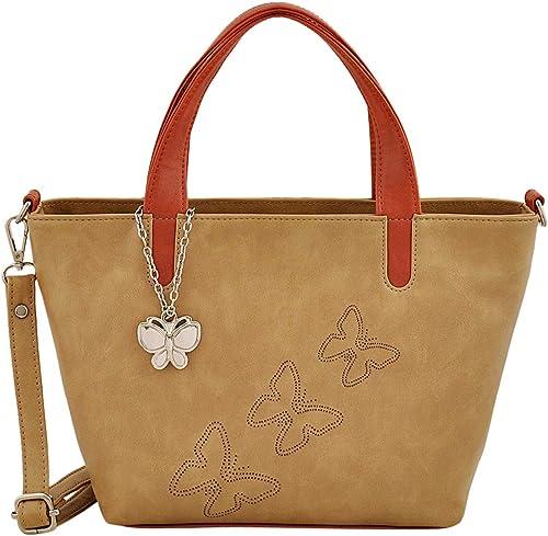Women Handbag Beige Tan BNS 0716BG