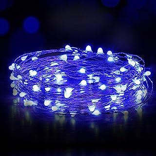 Ariceleo USB Powered Fairy Lights, 50 led 16 ft. USB Plug in (No Remote) Copper Wire USB String Lights for Bedroom Christm...